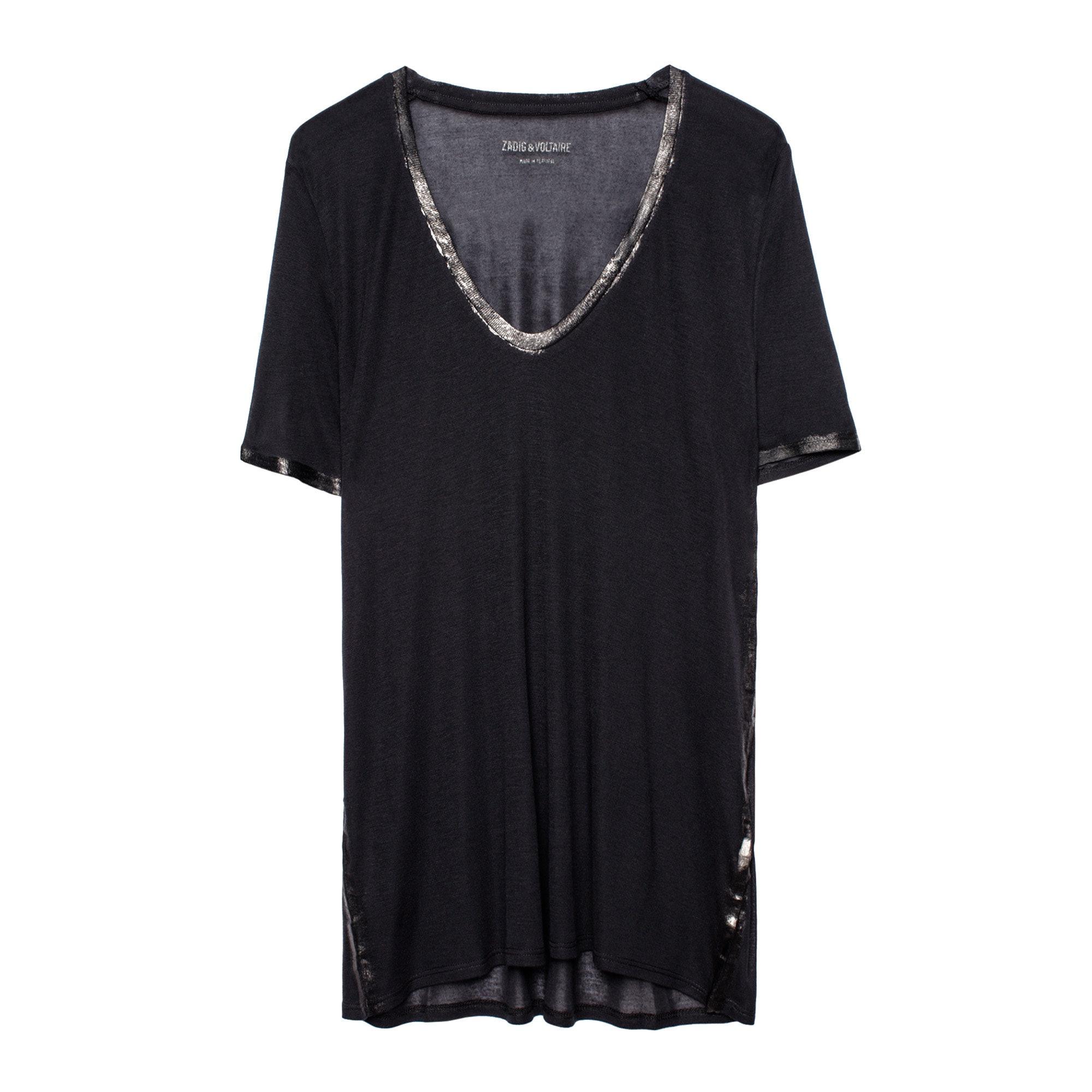 T-shirt Tino Foil - Taille XS  - Zadig & Voltaire - Modalova