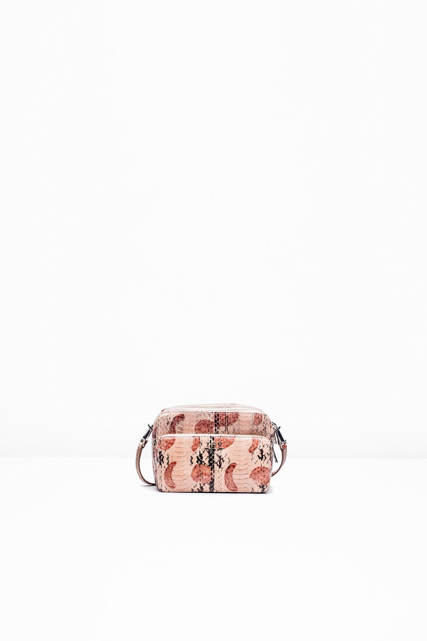 Boxy XL Python Bag