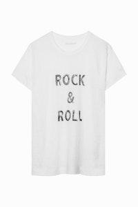 Camiseta Walk Lino Print