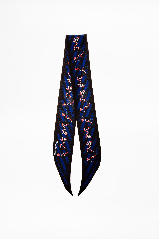 Foulard XS Silky Stripe