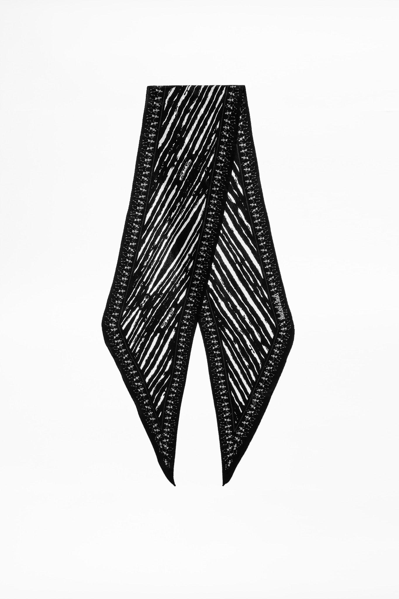Foulard Silky Skeletons