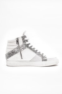 ZV1747 Mid Glit Sneakers