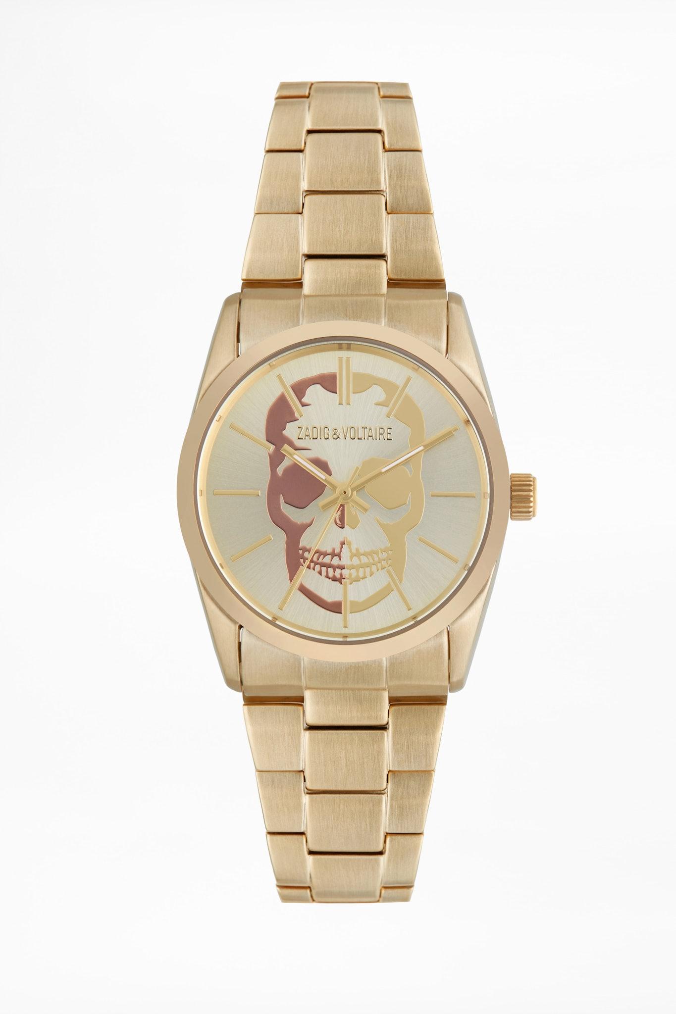 Uhren Montre Timeless Tête De Mort ZVT002