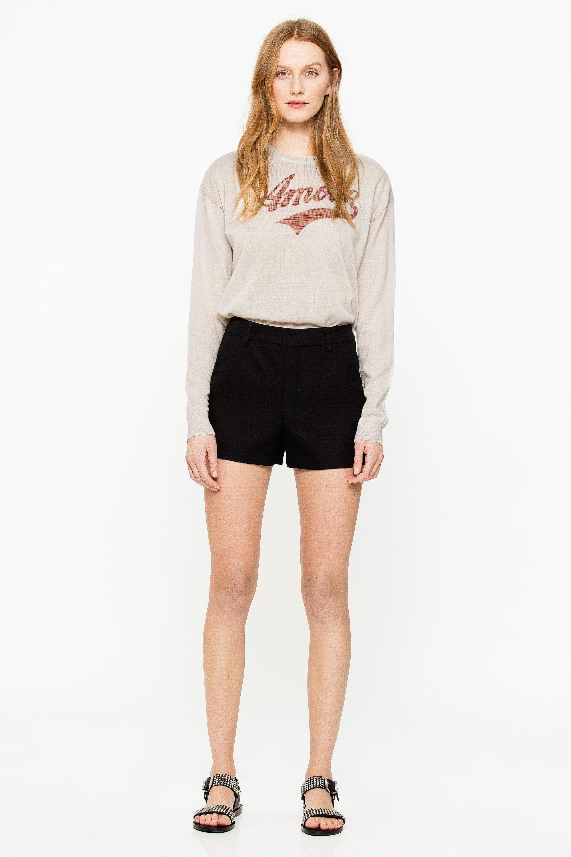 Pink Smock Shorts