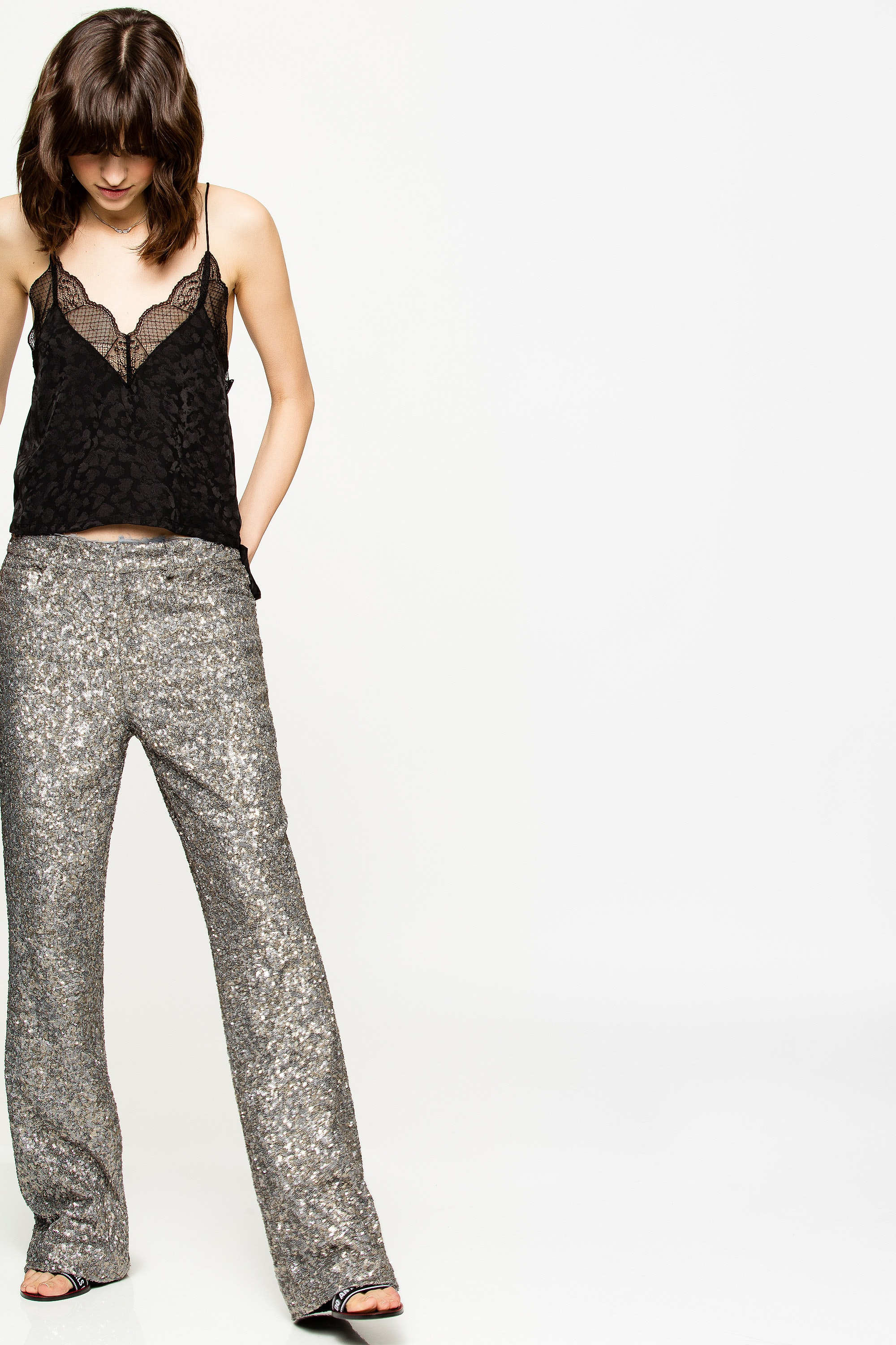 Pistol Sequins Pants