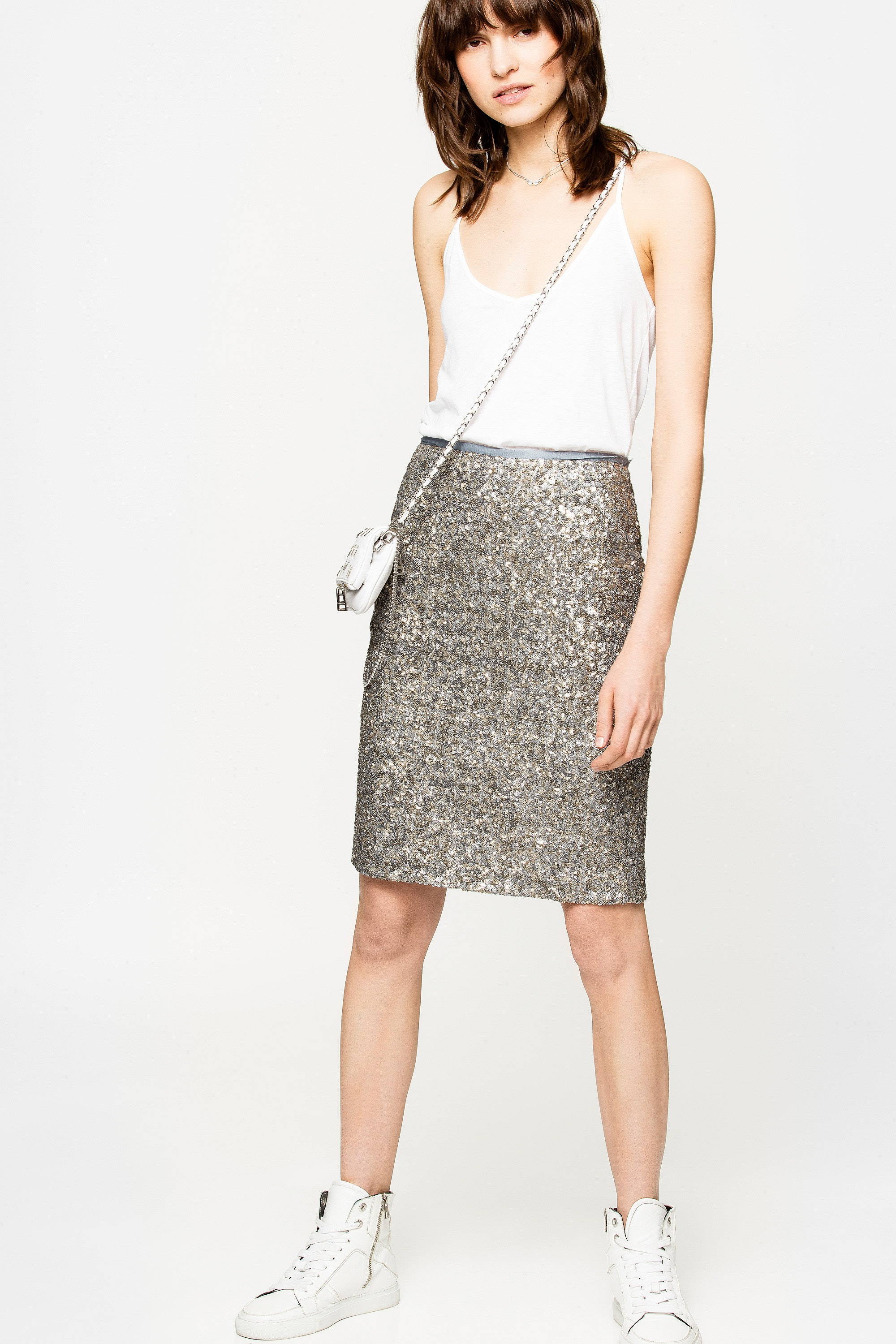 Joan Sequins Skirt