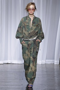 Rafal Camou Dress