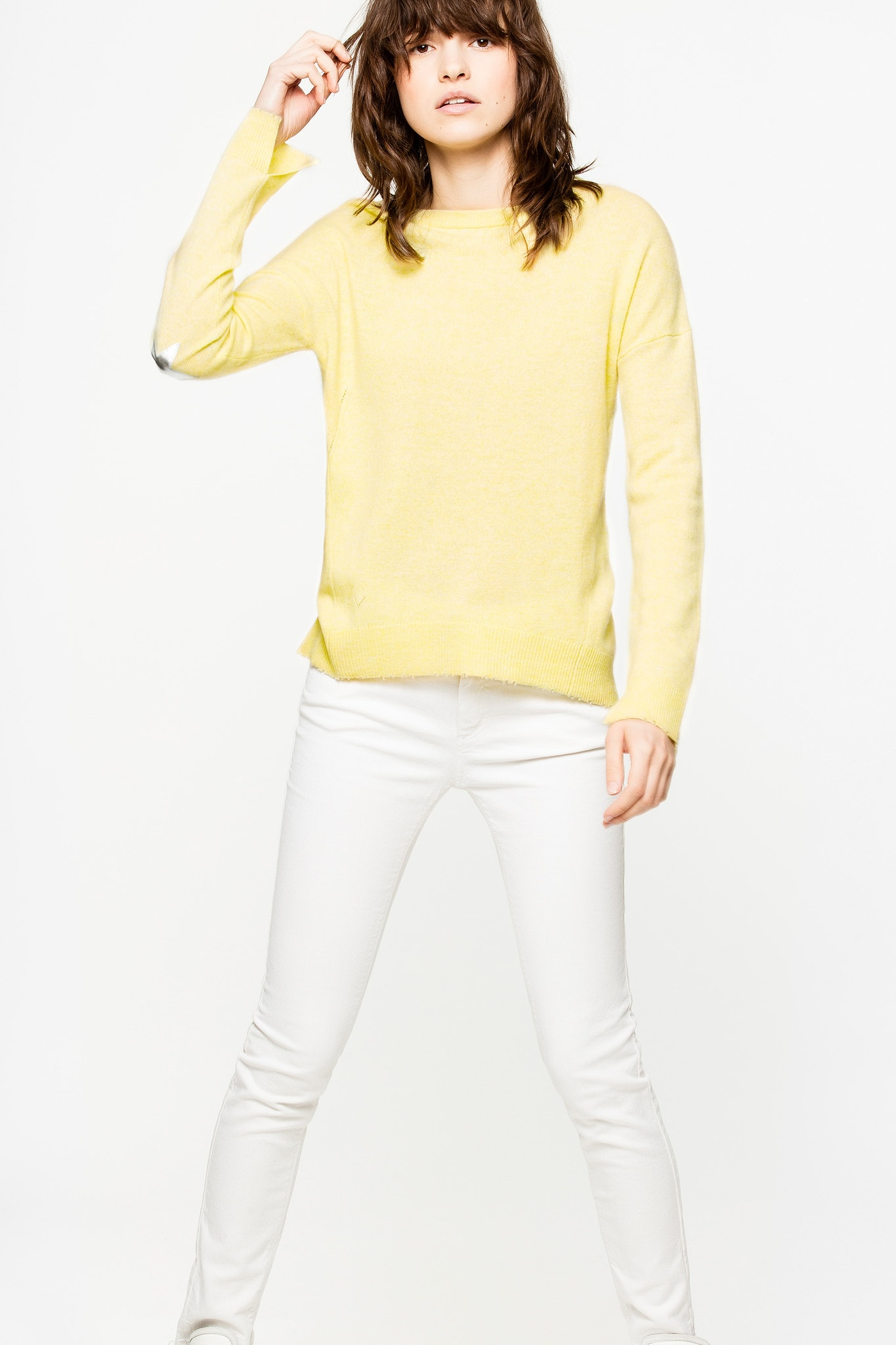 Cici Patch Cachemire Sweater