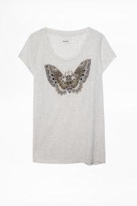 Camiseta Meryl Canetille Butterfly
