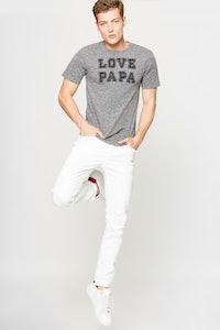 T-Shirt Tommy Chiné