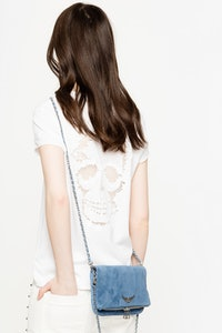 Story Fishnet Skull T-Shirt