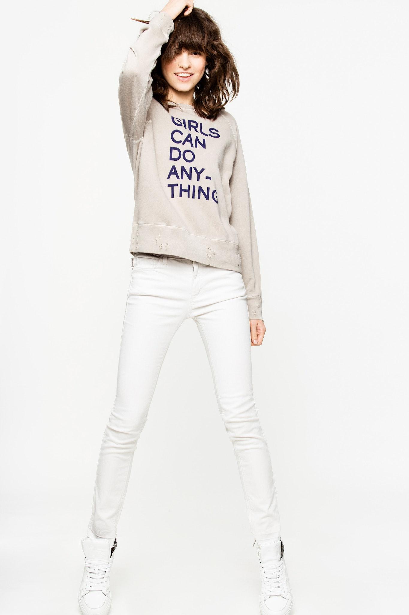 Sweatshirt Upper Print