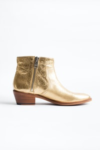 Stiefeletten Pilar Low Gold