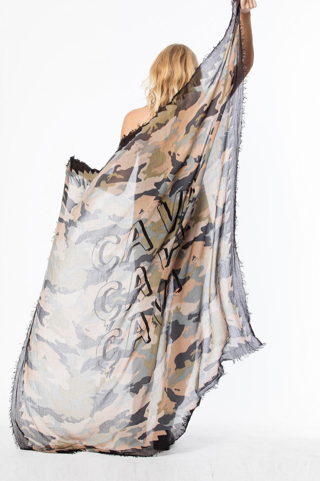 Delta Camou scarf