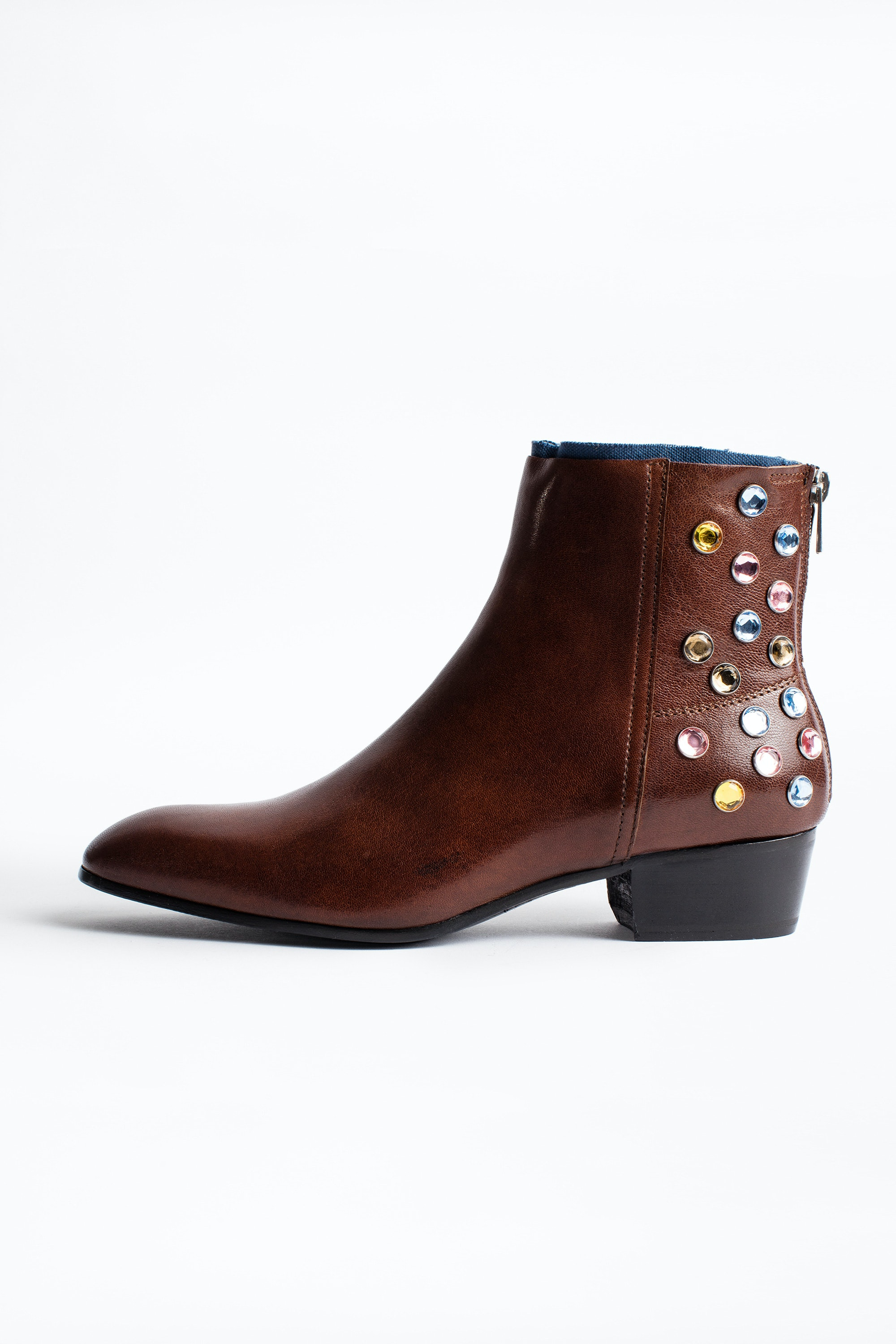 Sonlux Strass ankle boots