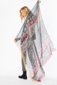 Kerry Multi Print scarf