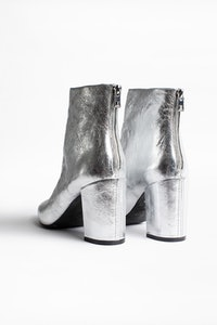 Glimmer ankle boots