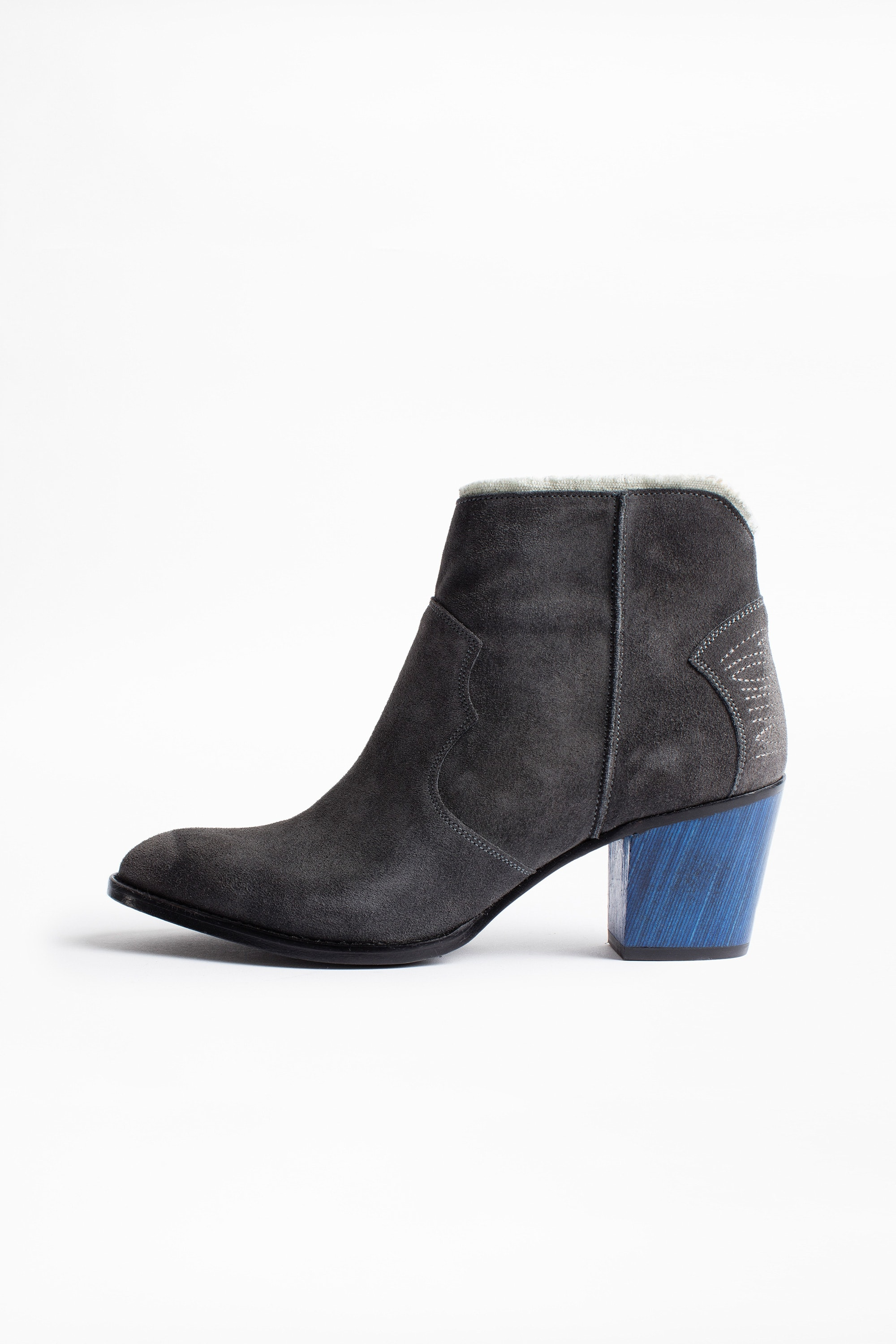 Molly Fray ankle boots