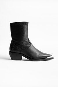 Erin Stretch ankle boots