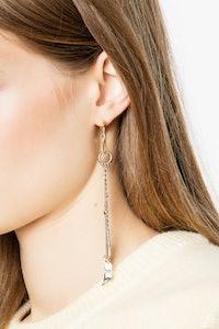 Einzelner Ohrring Mila Flash