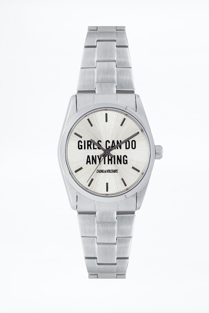 "Uhr ""Timeless Girls Can Do Anything ZVT101"""