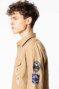 Hemd Santiago Badge