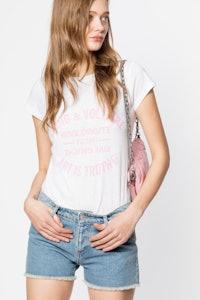 T-shirt Skinny Blason