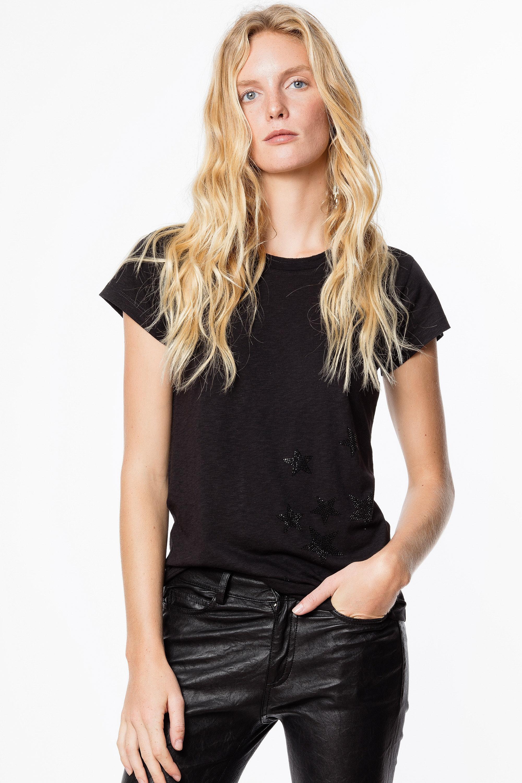 T-shirt Skinny Strass Star