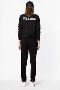 Sweatshirt Upper Print Voltaire
