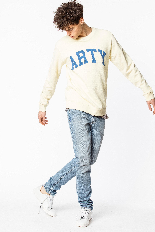 Steeve Print Rock Sweatshirt