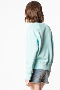 Sweatshirt Upper Brode Overdyed