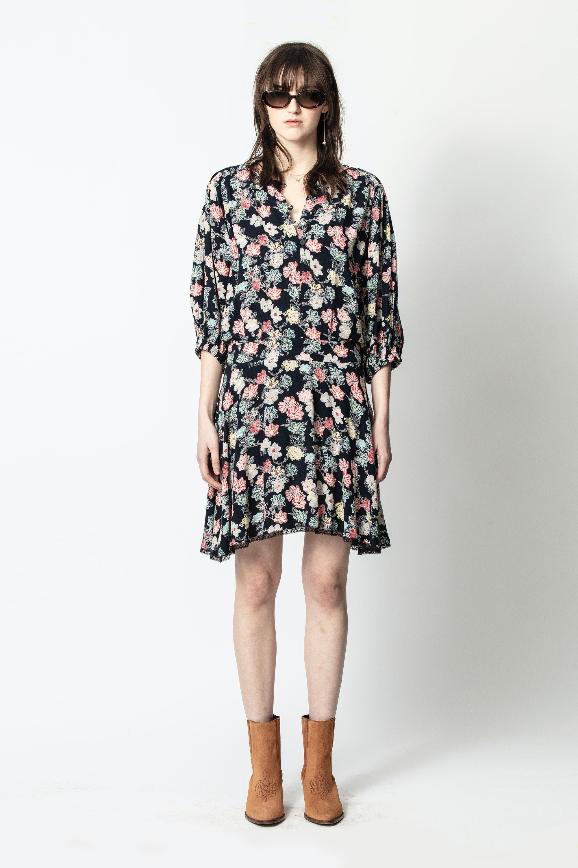 Kleid Raspali Print Flowers