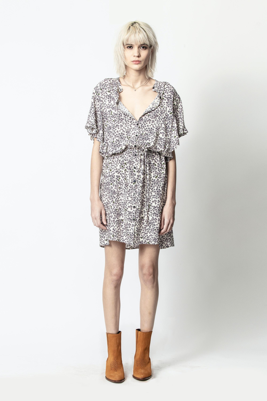 Kleid Rafix Print Hortensia
