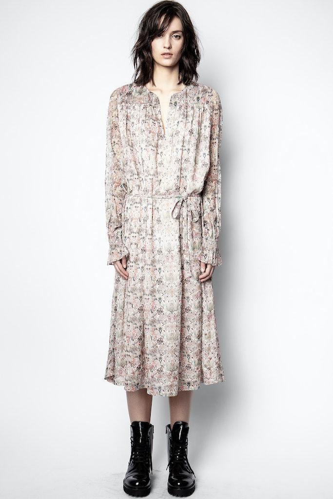 Robe Raya Mousseline Mini Kaleido - Taille L  - Zadig & Voltaire - Modalova