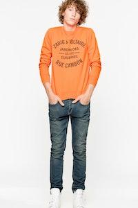 Sweatshirt Scott Patch
