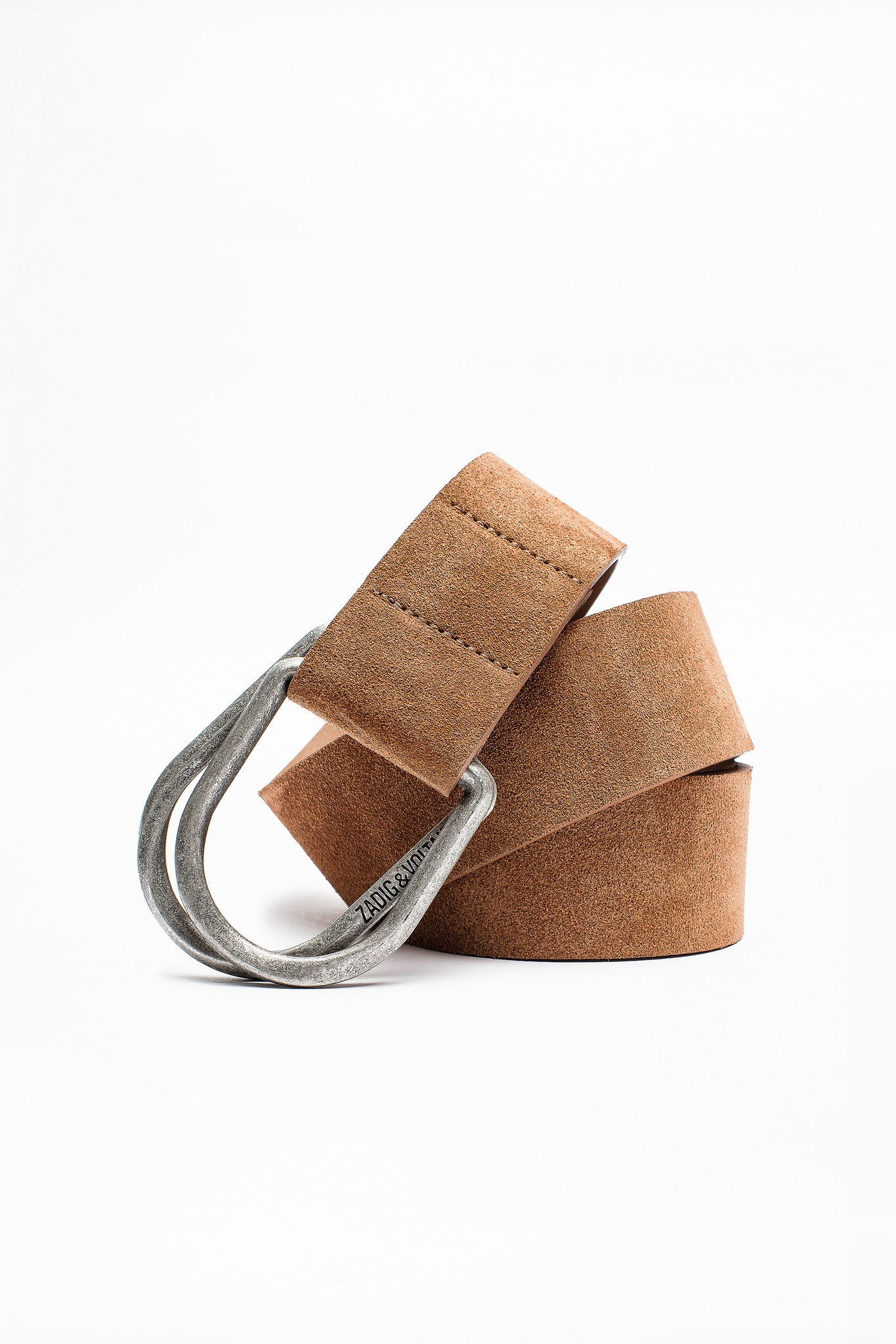 Double D Suede Belt