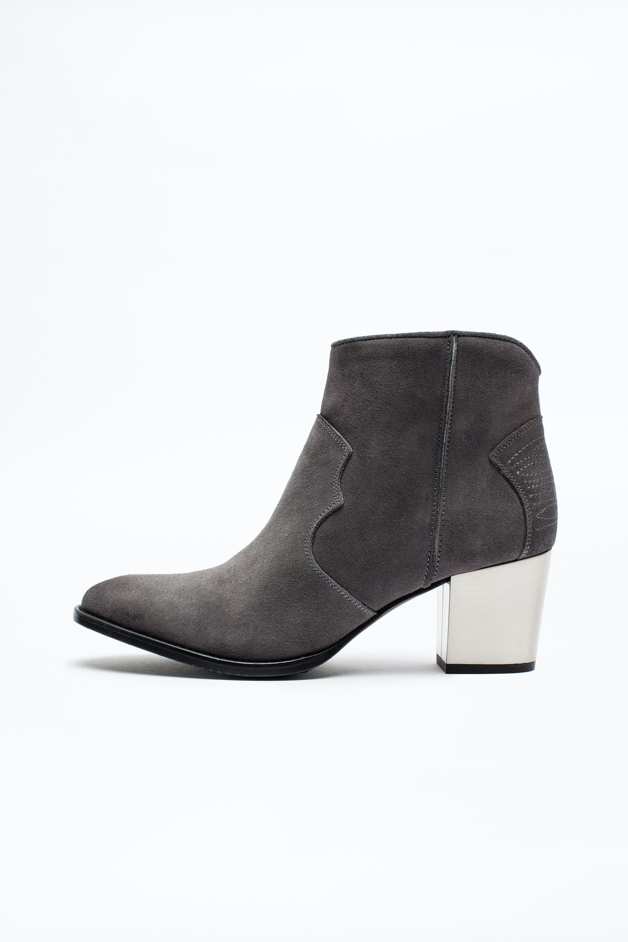 Bottines Molly Suede Heel