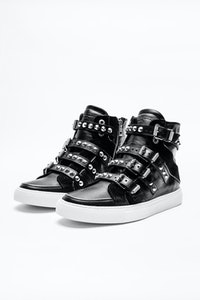 Zv1747 High Buckle Sneakers