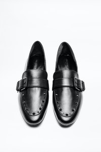 Happy Black Loafers