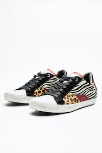 Zadig Patch Sneakers