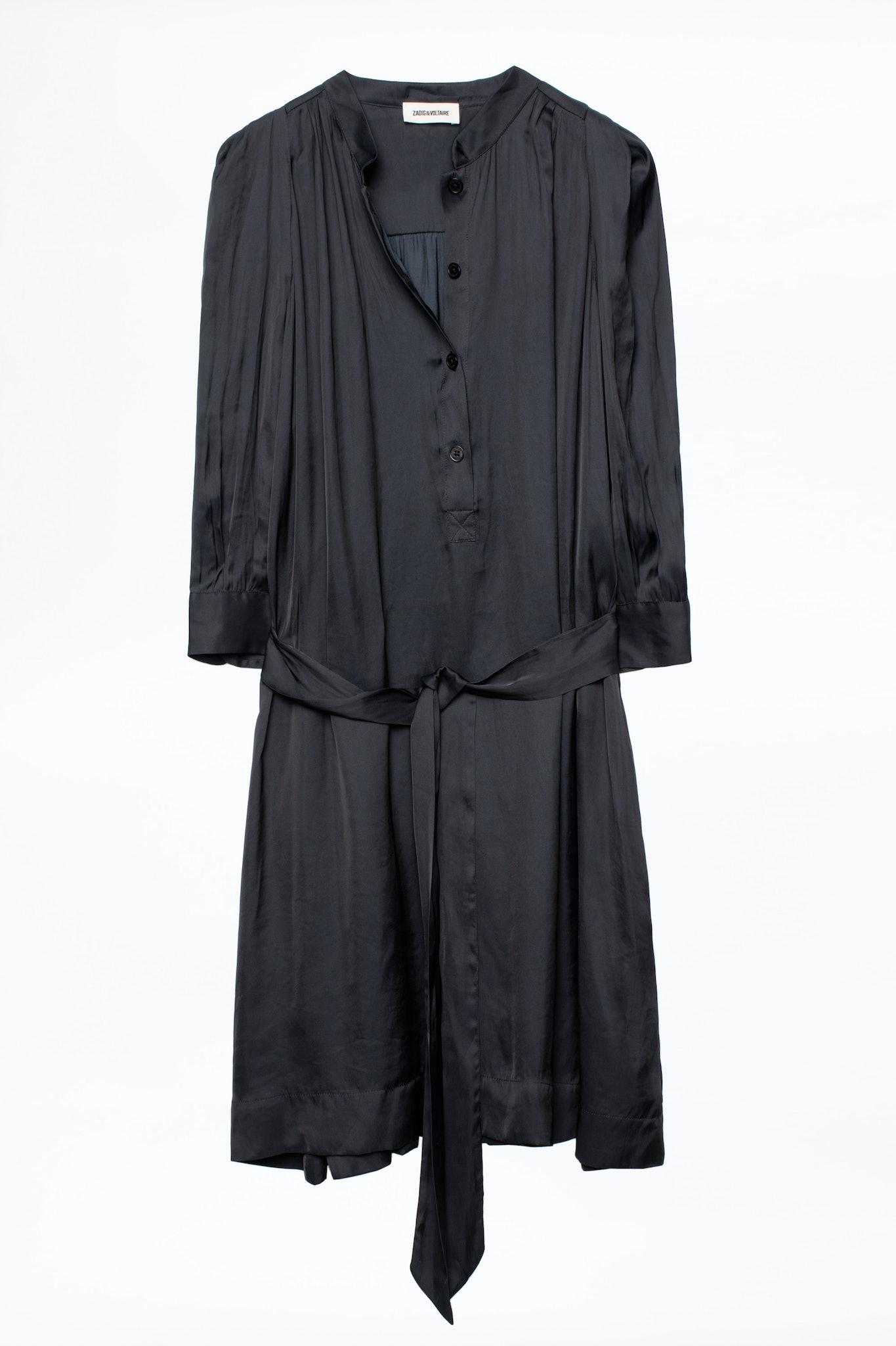 Retouch Satin Dress