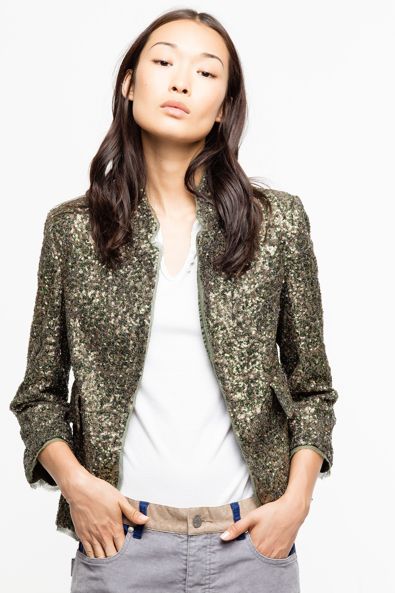 Verys Sequin Jacket