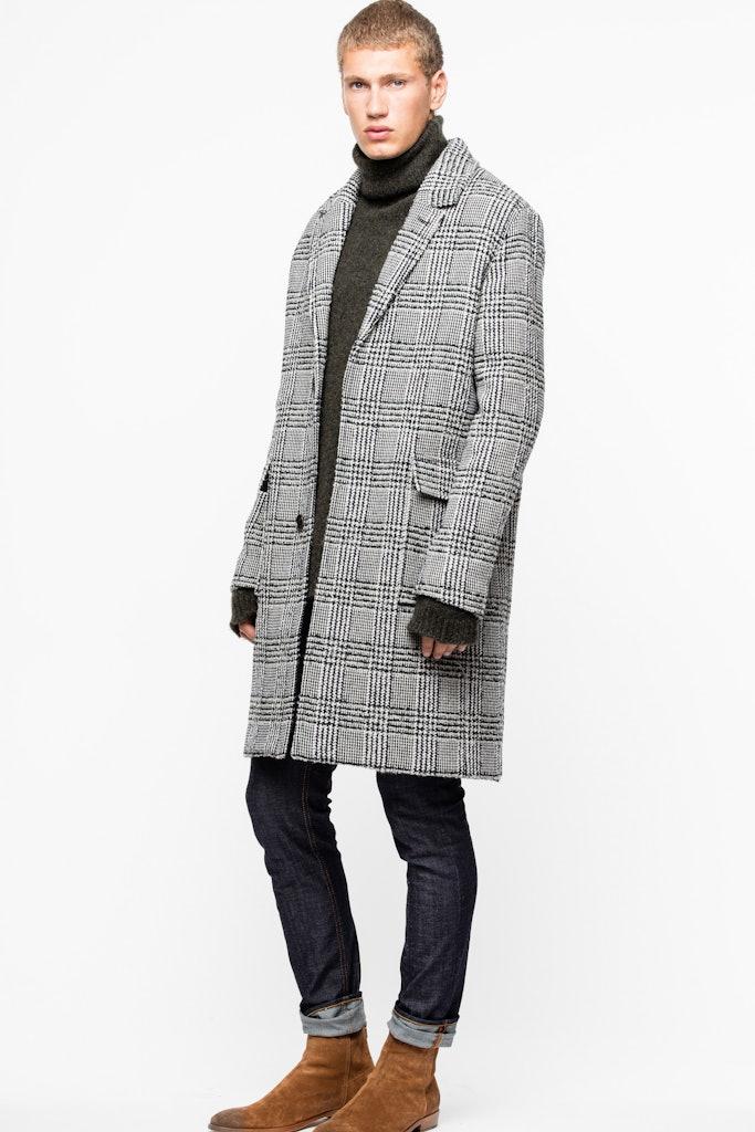 Morris Check Coat