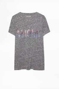 T-Shirt Walk Amour Strass