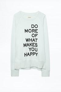 Upper Print Sweatshirt