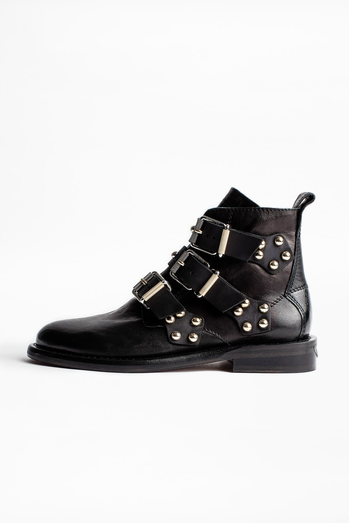Bottines Laureen Buckle Studs