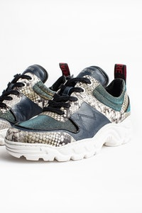 Blaze Lurex Sneakers
