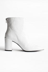 Glimmer Vernis Ankle Boots
