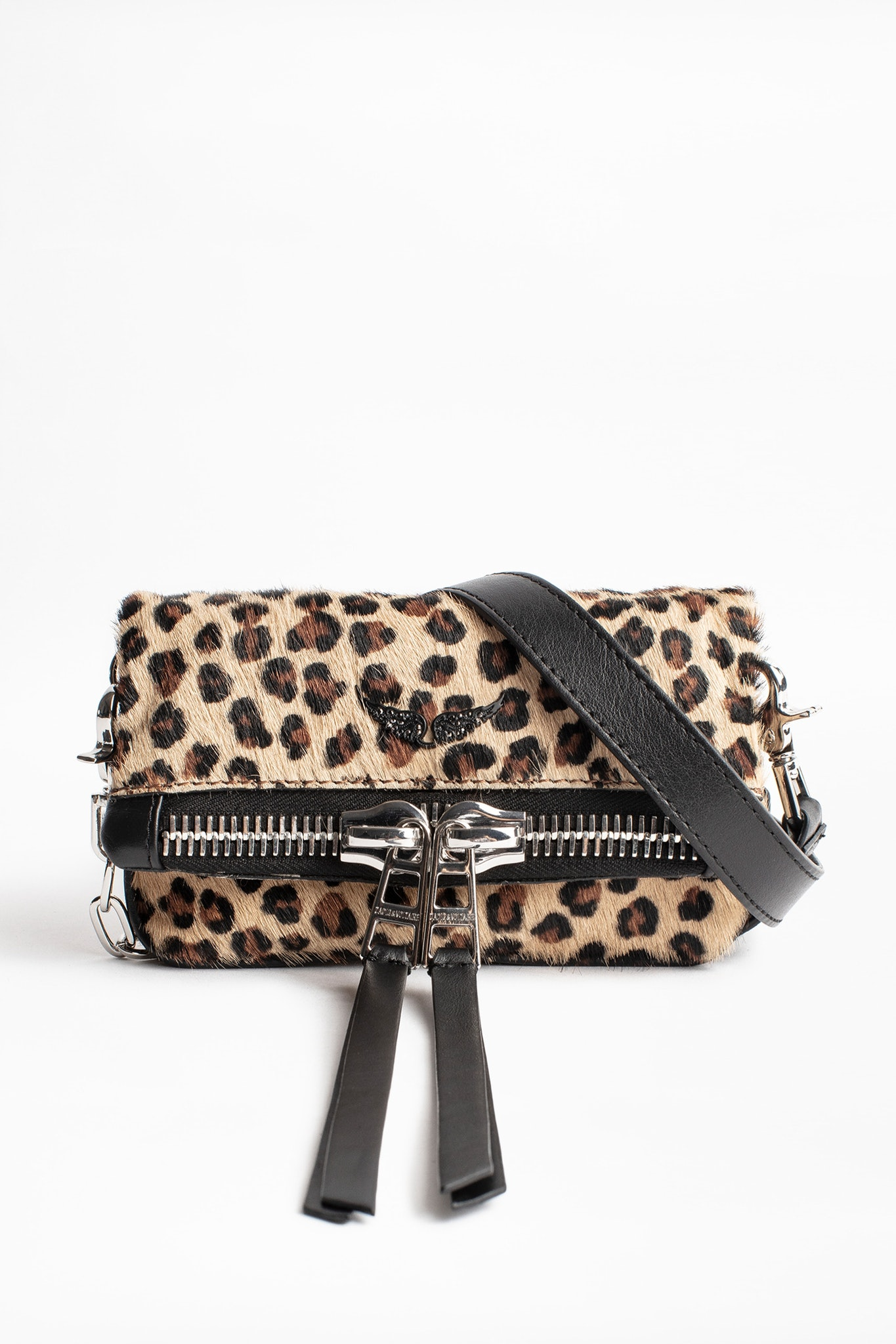 Rock Nano Zip Leo Clutch