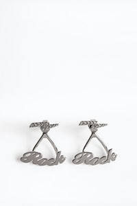 Boucles d'oreilles Rock